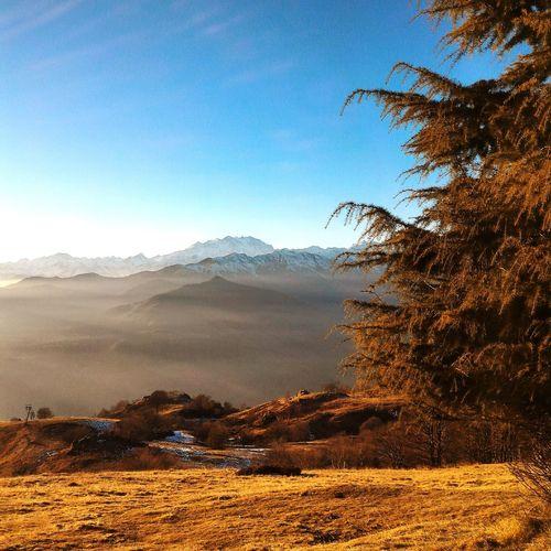 Mountain Alps Italy Alpi Mottarone Sunset Tramonto Montagna