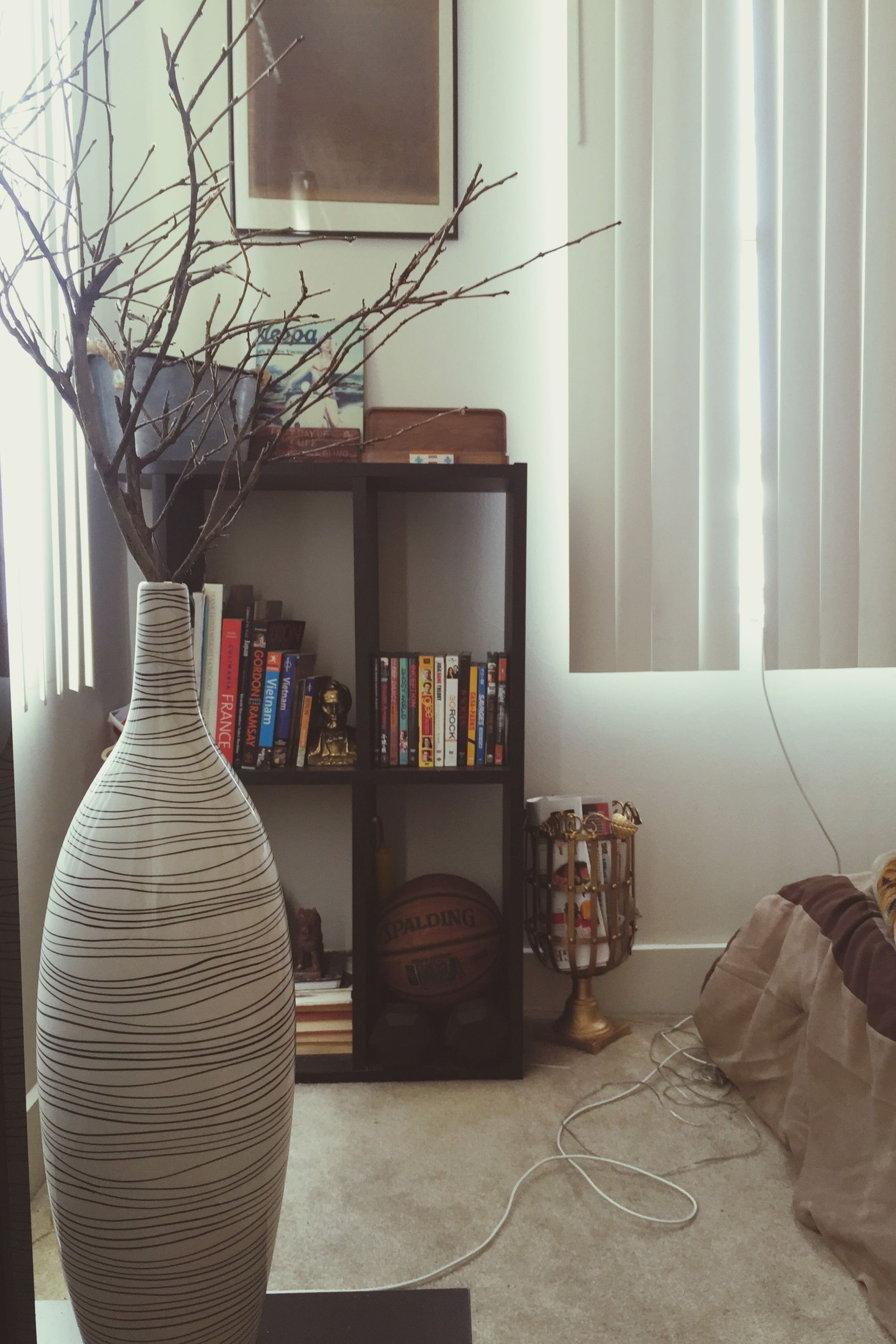 indoors, window, home interior, house, chair, architecture, absence, built structure, curtain, table, potted plant, day, wall - building feature, empty, hanging, no people, sunlight, wall, still life, arrangement