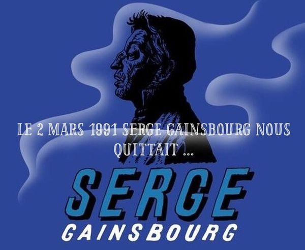 Hommage Serge Gainsbourg Music Poete 24 ans deja