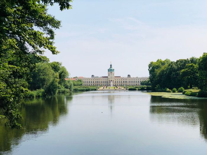 Charlottenburg Tree Architecture Building Exterior Built Structure Plant Sky Water Reflection The Past Travel Growth No People Day Waterfront Nature Tourism Outdoors Travel Destinations History City