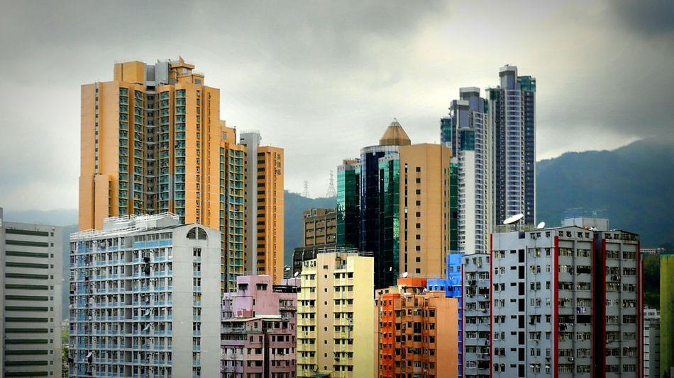 Apart and Residence. Kwaichung Hong Kong Discoverhongkong DMC_CM1 Leica HDR Pro Hdr Mobile Photography Buildings Hkigers Pmg_hok