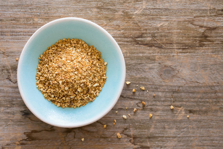 Dried Orange Peel Orange Peel Citrus  Dried Spice Seasoning Food Bowl Healthy Eating Table Directly Above No People Close-up Ingredient High Angle View Nobody Isolated Macro