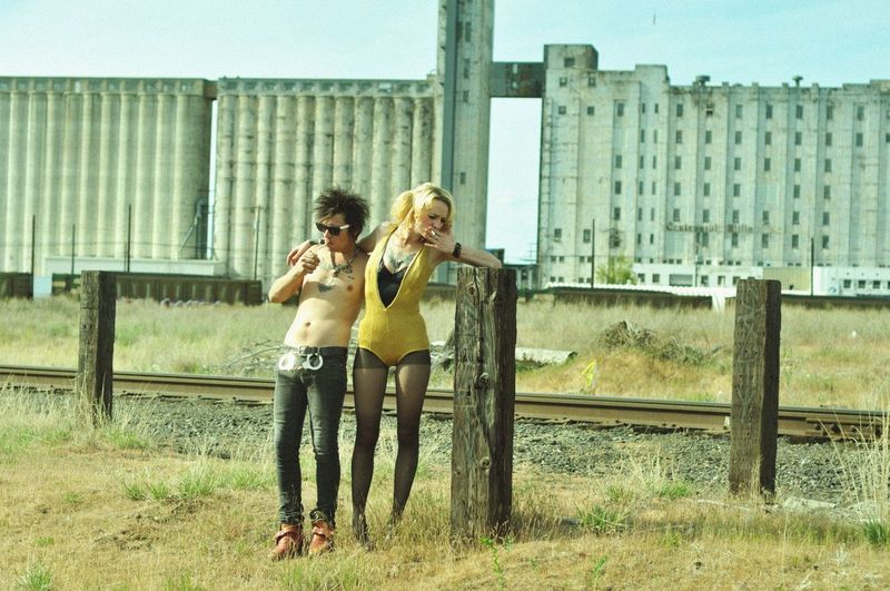 Sid & Nancy #couples #smoking #love #summer #blonde #music #sidandnancy #punkrock #punk #sexpistols Casual Clothing Day Field Full Length Grass Leisure Activity Lifestyles Outdoors Portrait Sky Standing First Eyeem Photo
