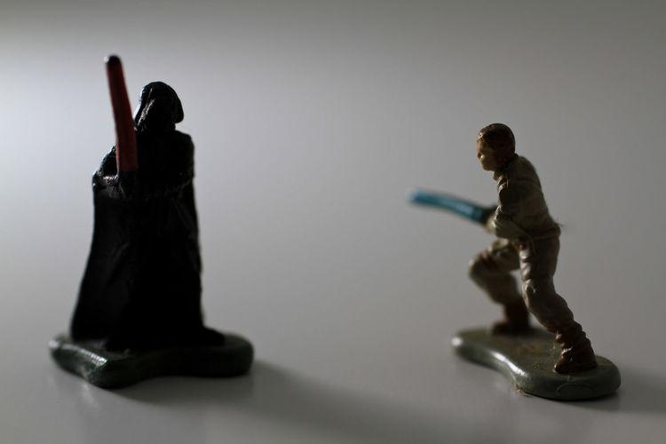Toys Toyphotography Starwars Darthvader Lukeskywalker Micromachines Ngetes First Eyeem Photo