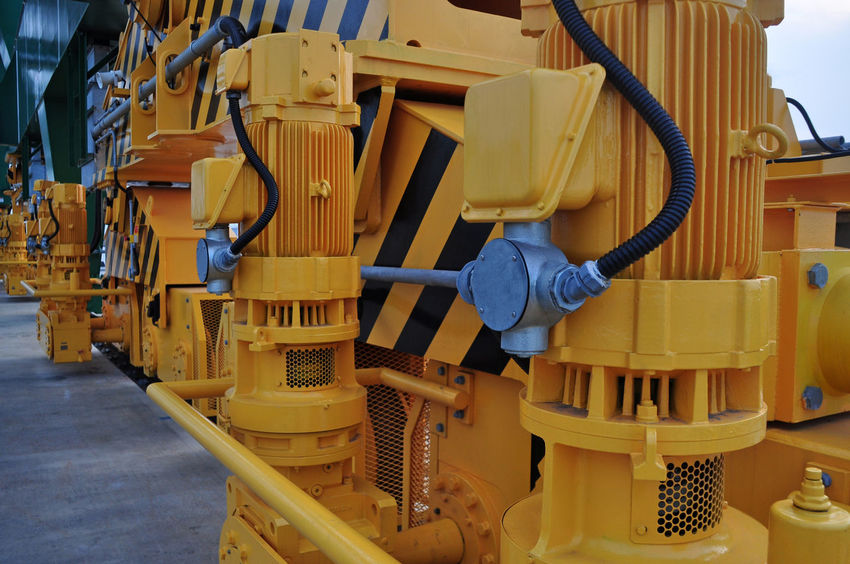 machine of moblie crane in Tanjung Priok International Port Cranes Equipment Harbor Heavy Machinery INDONESIA Industrial Industry Jakarta Machines Metal Mobile Crane Part Of Port Still Life Tanjung Priok Yellow