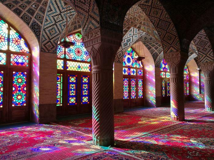 EyeEm Selects Travelling Travel Photography Architecture Travel Destinations Shiraz, Iran Pinkmosque Irantravel Iran Iranian Architecture Iranpics Nasir-almolk Mosque Nasir_ol_Molk Nasiralmulkmosque Nasir Al-Mulk Shiraztagram