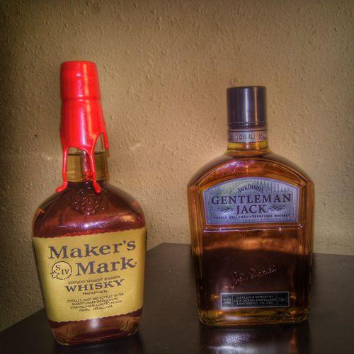 Just Chillin' Whiskey Bourbon Whiskey Brown Gentlemanjack Makers Mark Showcase: February