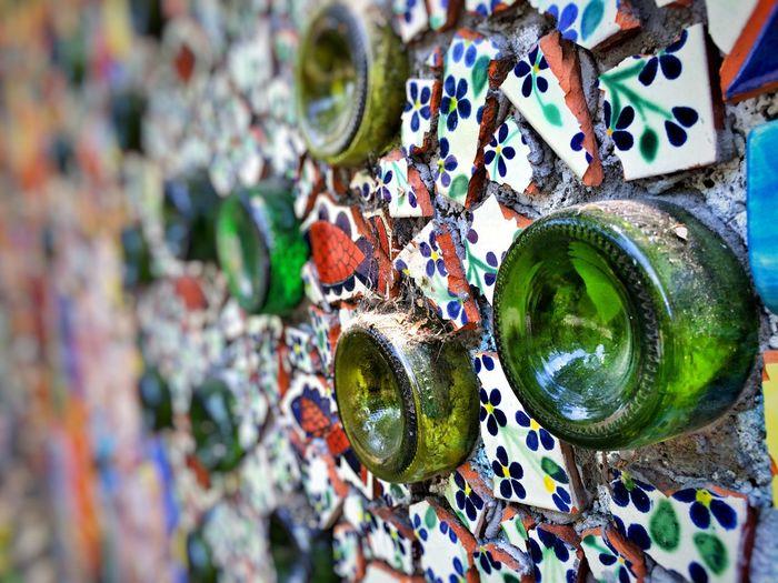 Muro de mosaicos