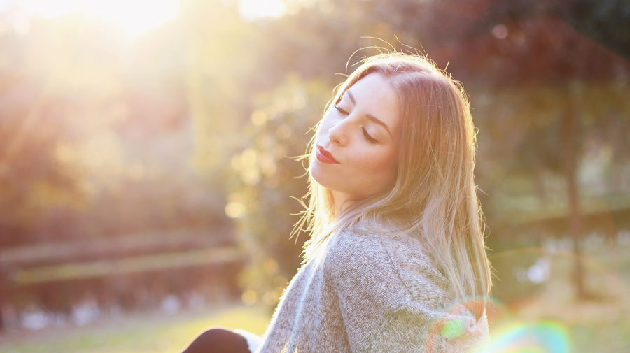 Warm Winter - Photoshoot with Francesca, January 2016 Blonde Close-up Dreamy Face Female Female Model Headshot Hiding Long Hair Mood Natural Nature Outdoors Park Real People Sleeping Style Sunset Sweater Winter Woman Woman Portrait Young Adult Young Women