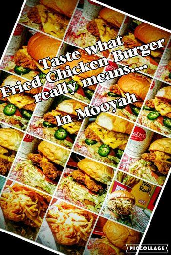 Fullfi Delish Fried Chicken Burger Foodies Taking Photos Stomach 😀 Mooyahbh Chicken Sandwich Yummy