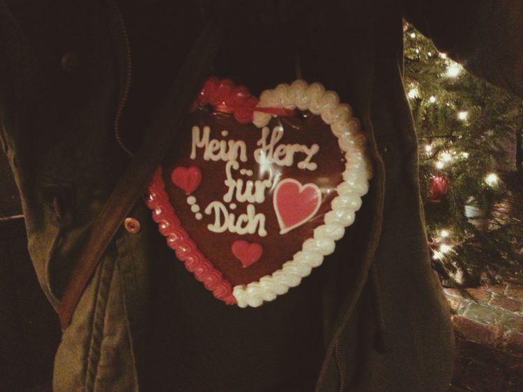 Weihnachten Weihnachtsmarkt Lebkuchenherz Merry Christmas! ??