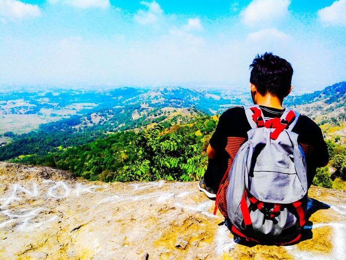 Relaxing Adventure Traveling Hiking