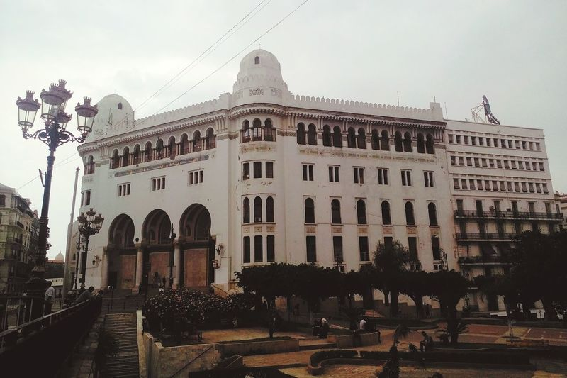 OpenEdit Phoneography Historic Building Historical Building Amazing Architecture Architecturelovers Architecture_collection Algeria's biggest Post Office Islamic Architecture Old Architecture