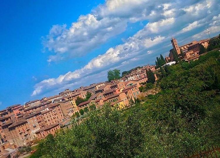 Siena Ig_siena Ig_tuscany Clouds Cloudlovers Cloud Cloudandsky Sky Skyporn Skylovers Green Landscape Tuscany Landscapes Landscape_lovers Vivoinunpostomeraviglioso