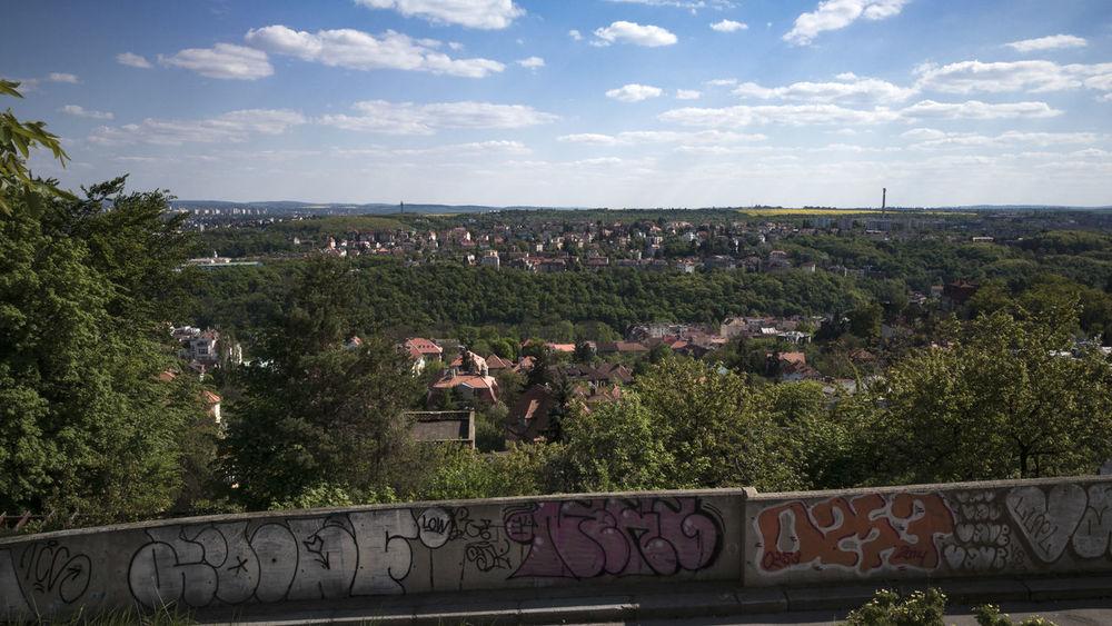 Graffiti Landscape Landspace Petrin Hill Prague Prague♡ Praha Praha ❤️ Vyhled