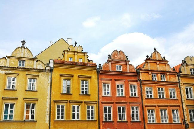 Warsaw Warszawa  Warsaw Poland Warsaw Old Town Old House Colorfull Colorful Houses UNESCO World Heritage Site Discover Your City Traditional House
