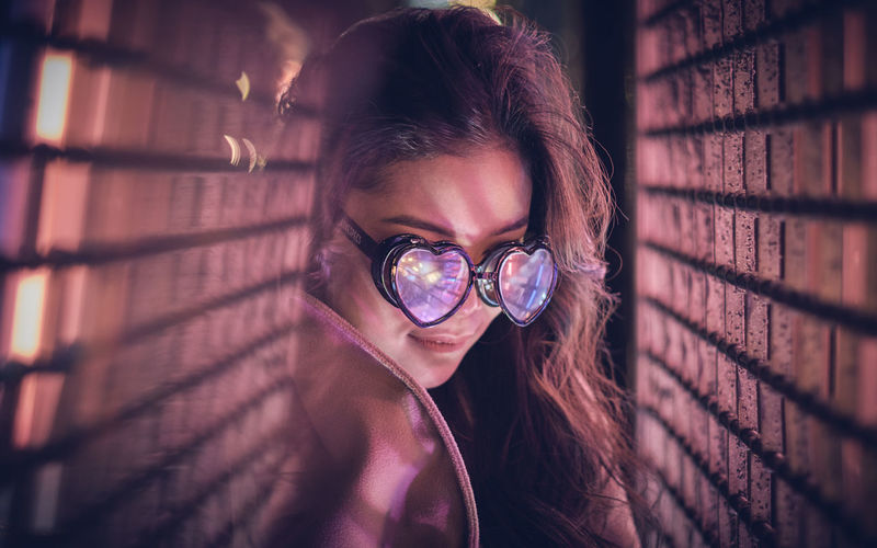 Model: Oleander Omega - Instagram: @oleandrega City Nights Cocktail London Portrait Of A Woman Reflection Adult Adults Only Beautiful Woman Close-up Day Eyeglasses  Headshot Indoors  Looking At Camera Neon One Person One Woman Only One Young Woman Only Only Women People Portrait Red Light Young Adult Young Women The Portraitist - 2018 EyeEm Awards
