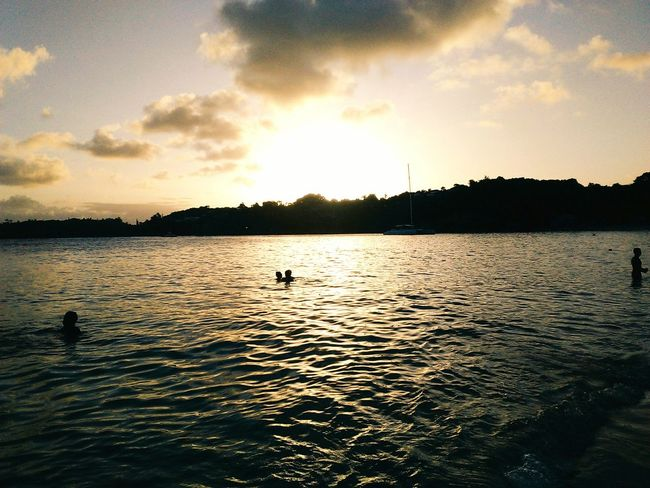 Guadeloupe Home Holidays Fun Summer Beach Sunset