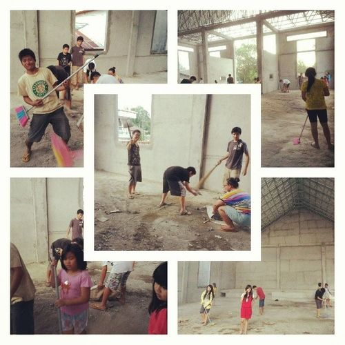 UNITY . Gen-T youth work together clean our new building,., yeah it is our HOME...Weloveourchruch Ilovemychruch Gbipeacecenter Lovemychruch mychurchmyhome home unity