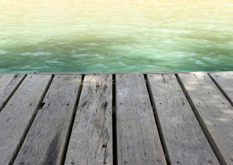 plank wood floor in to waterfront Pier Pond Textured  Wood Background Backgrounds Beach Blank Bridge Floor Lake Old Plank Sea Summer Surface Table Water Waterfront