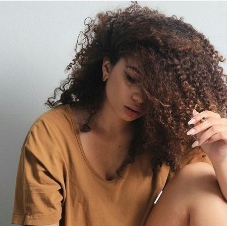 Model Aesthetics Gorgeous Fashion Photography Curly Hair Natural Hair Natural Beauty Fashion&beauty Mixed Girl Long Hair Longhair