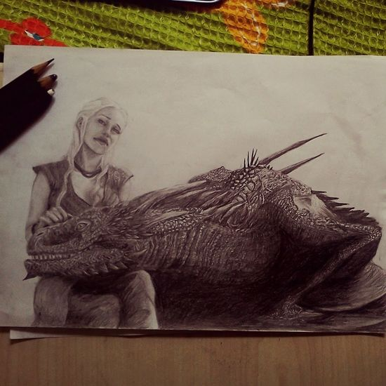 Gameofthrones Kalesi Dragon Charcoal