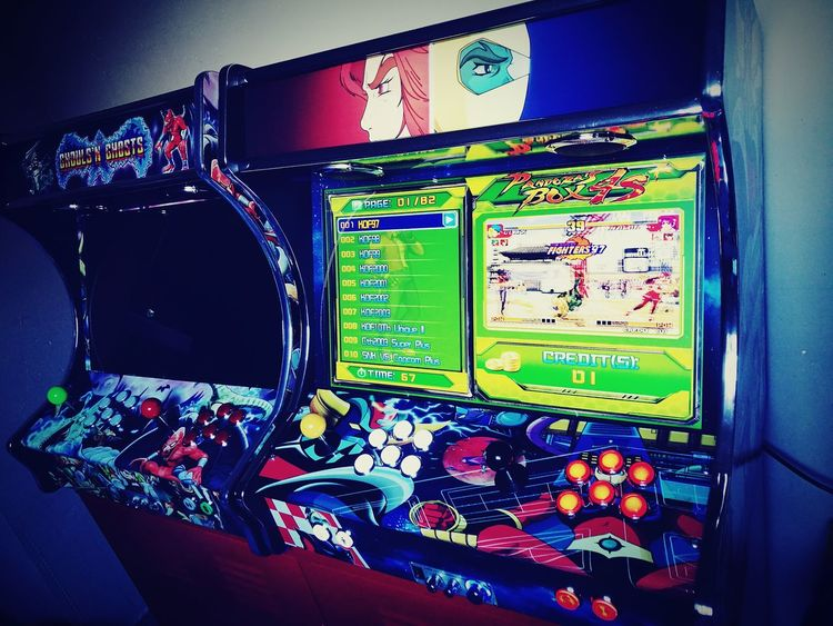 Arcade Games Multi Colored Indoors  Day Huawei P9 Leica Huaweiphotography Huawei Leica No People Old School Nostalgic  Goldorak Ghouls And Ghost Borne Arcades