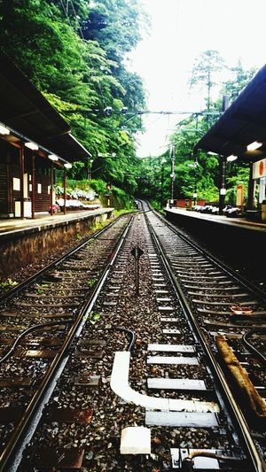Quiet Station Straight Onward Eyeem Natur Lover Forest Mountain Holiday Relaxing Time Hakone 静か~…な駅。静か~…な街。ゆっくり電車待つ!