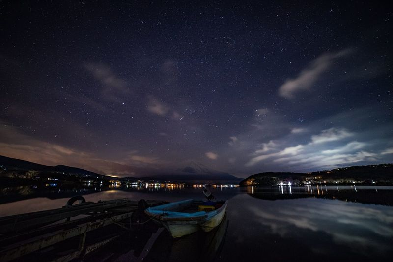 Night Star - Space Astronomy Sky Space Galaxy Scenics - Nature Beauty In Nature Nature Illuminated No People Space And Astronomy Tranquility Tranquil Scene Architecture Science Infinity Star Star Field City