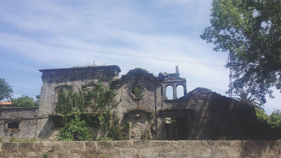 La casa Abandoned Parque  Paisaje Arquitectura Ahora  Antes