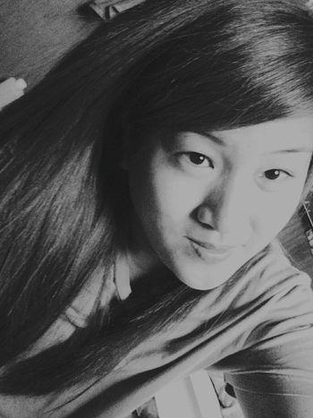 Blackandwhite Asian Girl Chinita Filipina