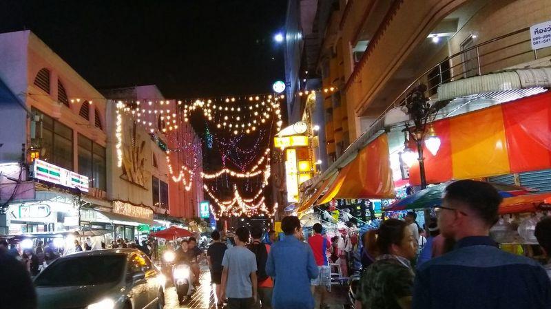 Lee Garden, Hatyai (Nov, 2017) Night Illuminated Large Group Of People Market People Be. Ready. EyeEmNewHere