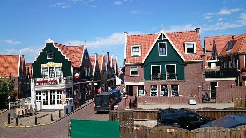 Un Paseo por Market un Pueblo Pesquero de Holanda