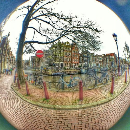 This is where I lost my Fisheye lens....it's in the Heerengracht now ? Amsterdam Canals
