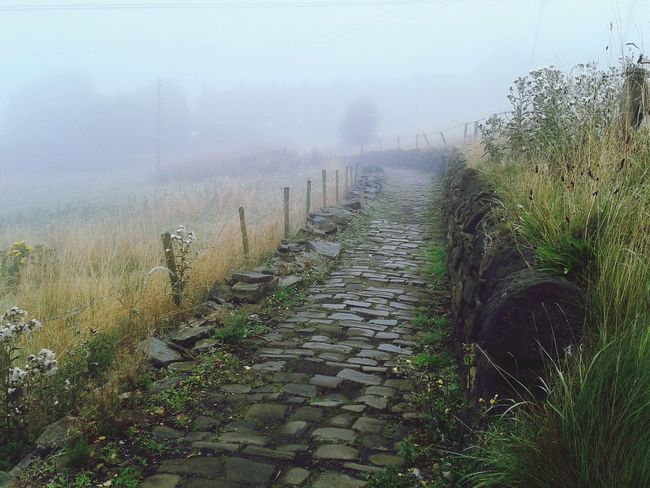 Foggy Morning Nature On Your Doorstep Valley Natural Beauty Misty Mornings Nice Views Packhorse Route Cobblestones Early Morning Fallbeauty