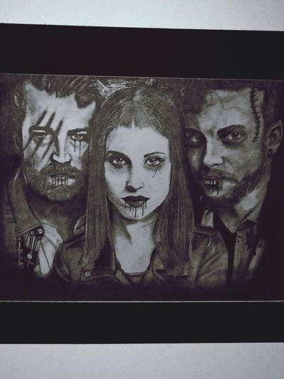 Paramore pencil drawing! <3 Art Black And White Paramore<3 Bands That Saved Me