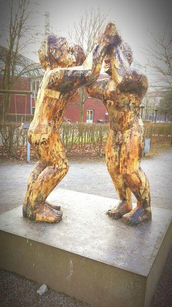 Architecture Hüttenberg Industriegeschichte Meiderich Duisburg 1902 Deutschland Tree Day Outdoors Sculpture Statue No People Elephant