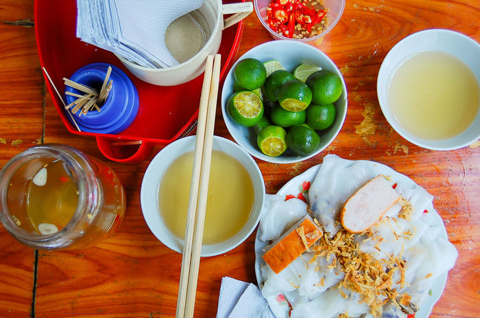 Eating banh cuôn Chopsticks Colourful Culture Delicious Food Food Food And Drink Freshness Hanoi Healthy Eating Meal Ready-to-eat Table Top Perspective Traditionalfood Travel Vietnam Vietnamese Vietnamese Food Lime Nuoc Mam Bright Colors