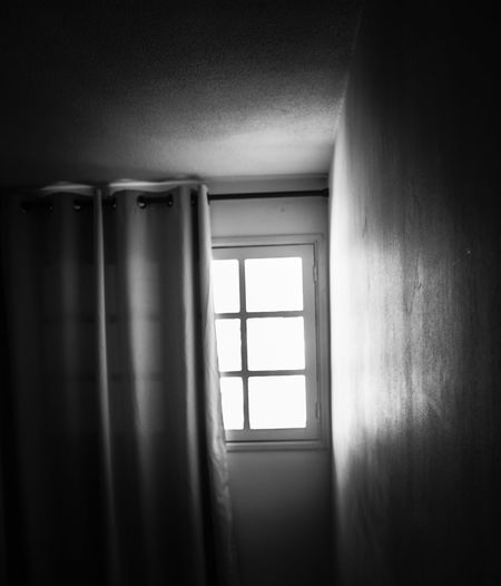Open the window and let the light in... Focus On Background Prisoner Of Dreams... Closed Window  Curtain Blackandwhite Black And White Centered Perspective In Front Copy Space Room Shadowy Shadows & Lights Light Light And Shadow Window Frame Corner Room Corner Nobody Around Dark Black Right Open The Window Window Architecture Close-up Focus On Shadow Long Shadow - Shadow Daylight Shadow Fabric