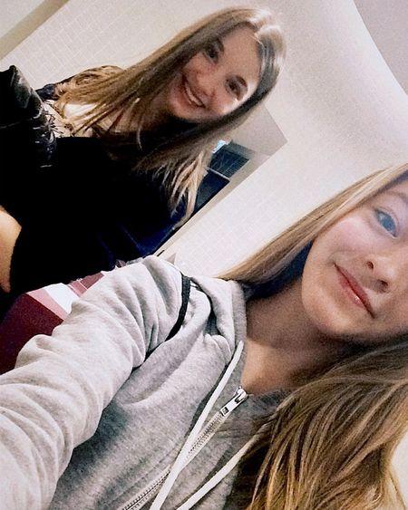 With BFF 😘 Bestfriends Bff Cinema Smile Toiletselfie😂 Loveher Blondeandbrunette Blondie Brunette Czechgirls Happygirls Prettygirls Besties♡ Cute Perfect Trip Prague WithBFF Spring Weekendtrip Love ❤️💘