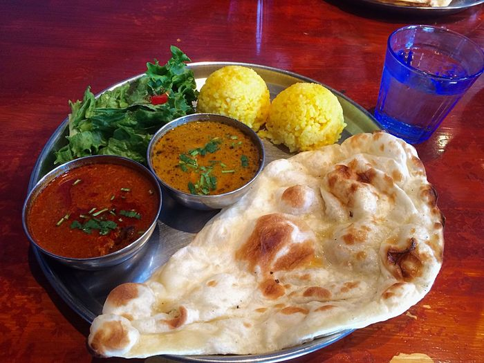 Curry Lunch Yummy