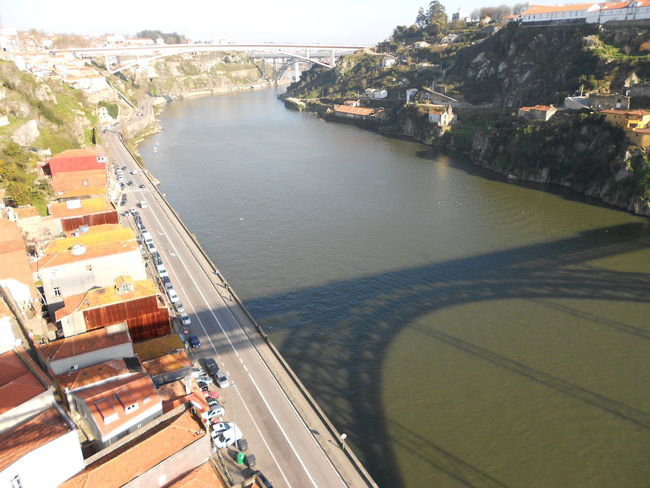 Bridge - Man Made Structure Bridge Shadow Cityscape Porto Portugal River Shadow On Water Transportation Travel Destinations Water