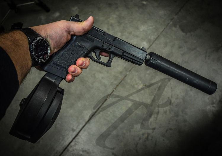 Gunlife Handgun GLOCK Glock17 Suppressor Suppressed Firearmphotography Silencer