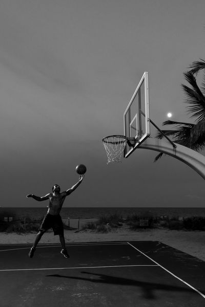 Activity Ball Basket Basketball Basketball - Sport Basketball Player City Court Healthy Lifestyle Jump Jumping Layout Leisure Activity Men Motion One Man Only One Person Outdoors Playing Real People Sommergefühle Sport Sportsman Young Adult