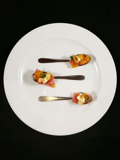 Plate Ready-to-eat Taking Photos No People Food Aperitif Time Whiteplate Spoon Artyfarty