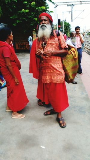 A Red Clothed Monk