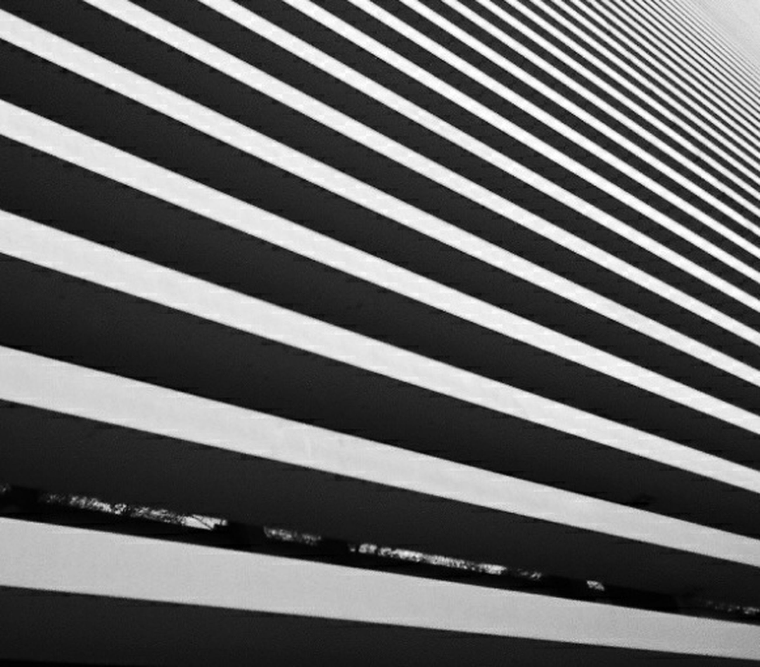 pattern, indoors, architecture, backgrounds, built structure, full frame, modern, low angle view, repetition, no people, striped, building exterior, design, in a row, building, day, city, white color, wall - building feature, high angle view