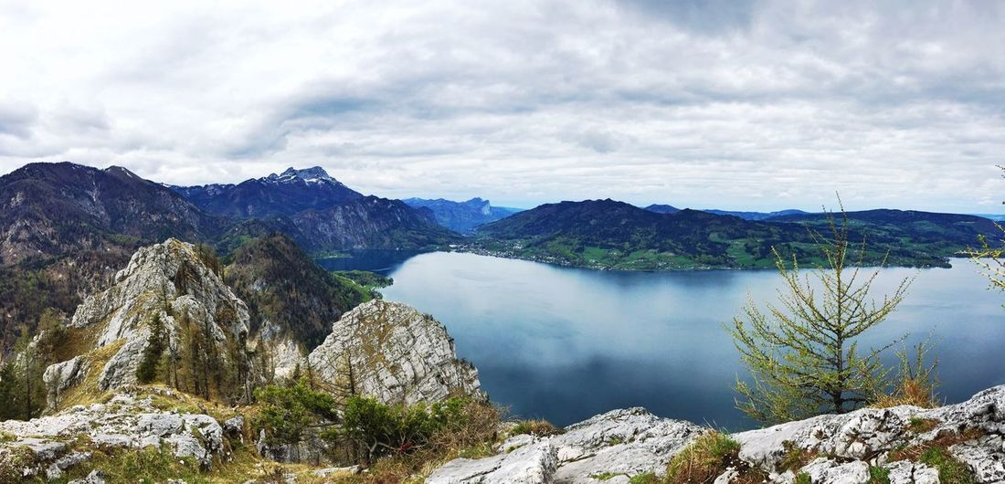 On top of Schoberstein with view to Attersee and far in the back Mondsee The Great Outdoors With Adobe First Eyeem Photo