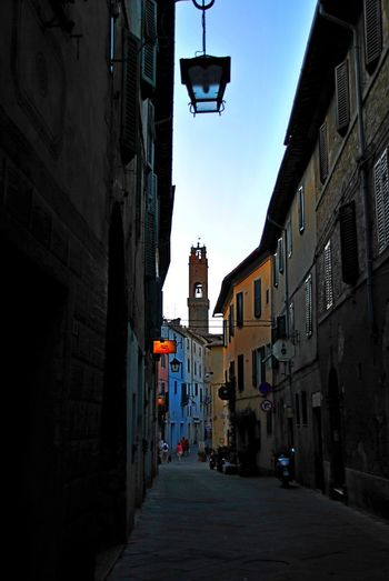 Montalcino. Architecture Building Exterior Built Structure City Day No People Outdoors Sky