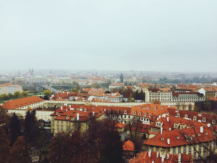 View from Praha castle European  風景 Cloud - Sky Cloud Praha Cityview Cityscape Old Town Old Buildings ヨーロッパ プラハ 建物 街並み 古い 屋根 Building Exterior Architecture Built Structure City Sky Cityscape Building Residential District Crowd Outdoors Roof TOWNSCAPE EyeEmNewHere